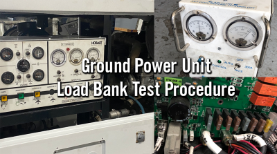 Ground Power Units Load Bank test Procedure